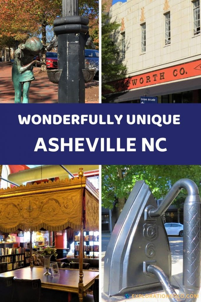 Asheville North Carolina is a fun and unique city for any traveler