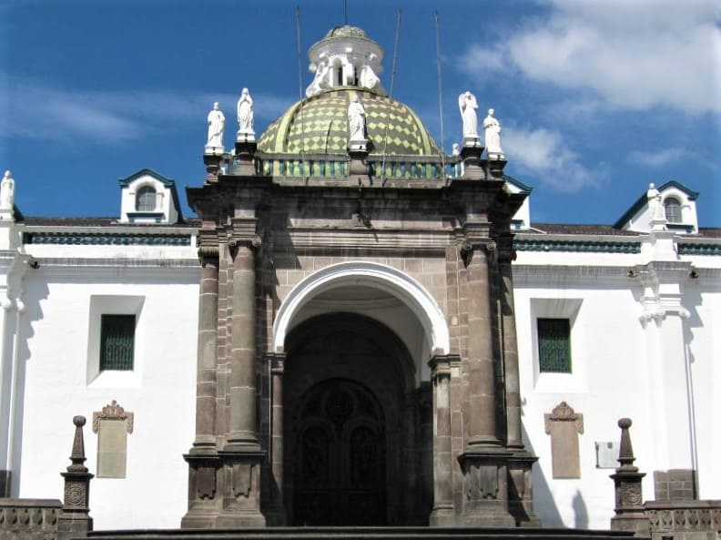 Metropolitan Cathedral in Old Town Quito