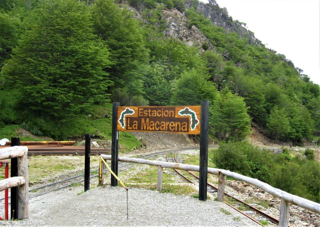 Estacion La Macarena was one of our stops on the Train at the End of the World