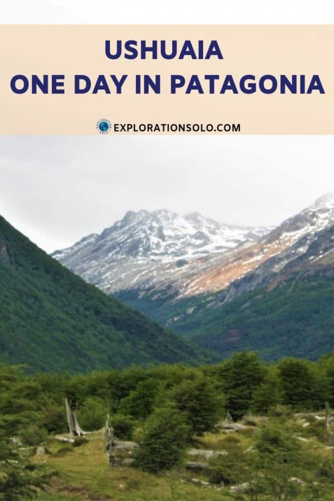 One day in Ushuaia as a solo traveler