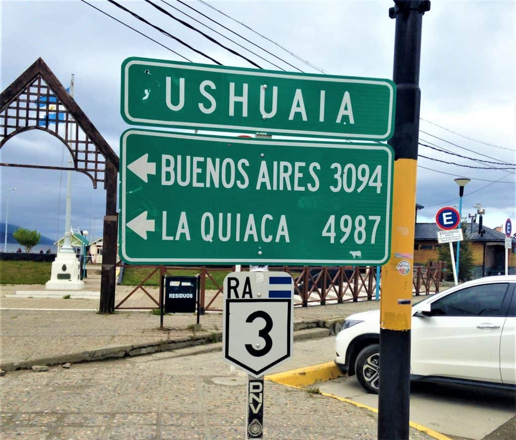 Ushuaia is thousands of miles from any large city