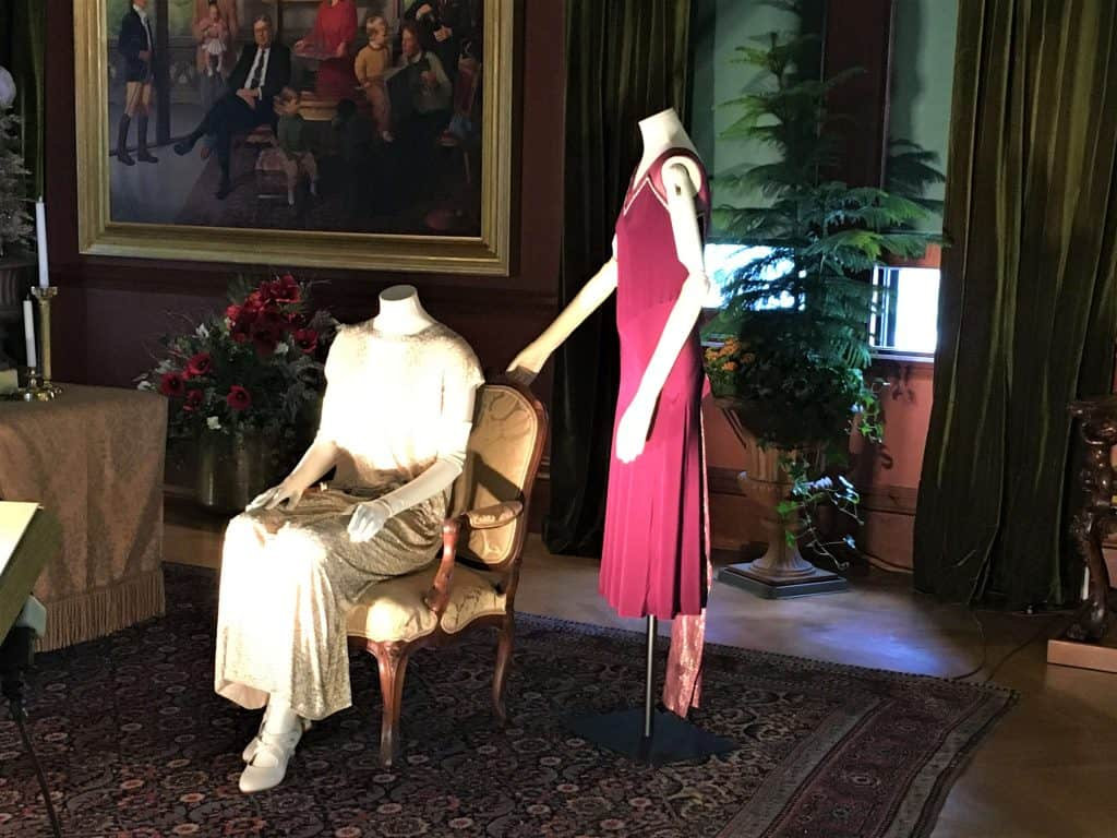 The Downton Abby exhibit at the Biltmore Estate
