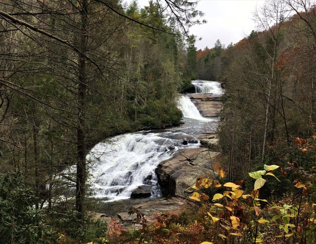 Triple Falls from the Hunger Games at Dupont State Forest in Asheville