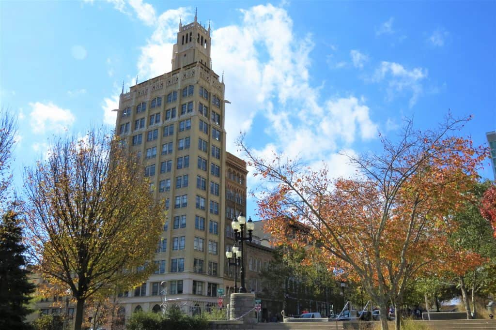 The Jackson Building in Asheville's Pack Square