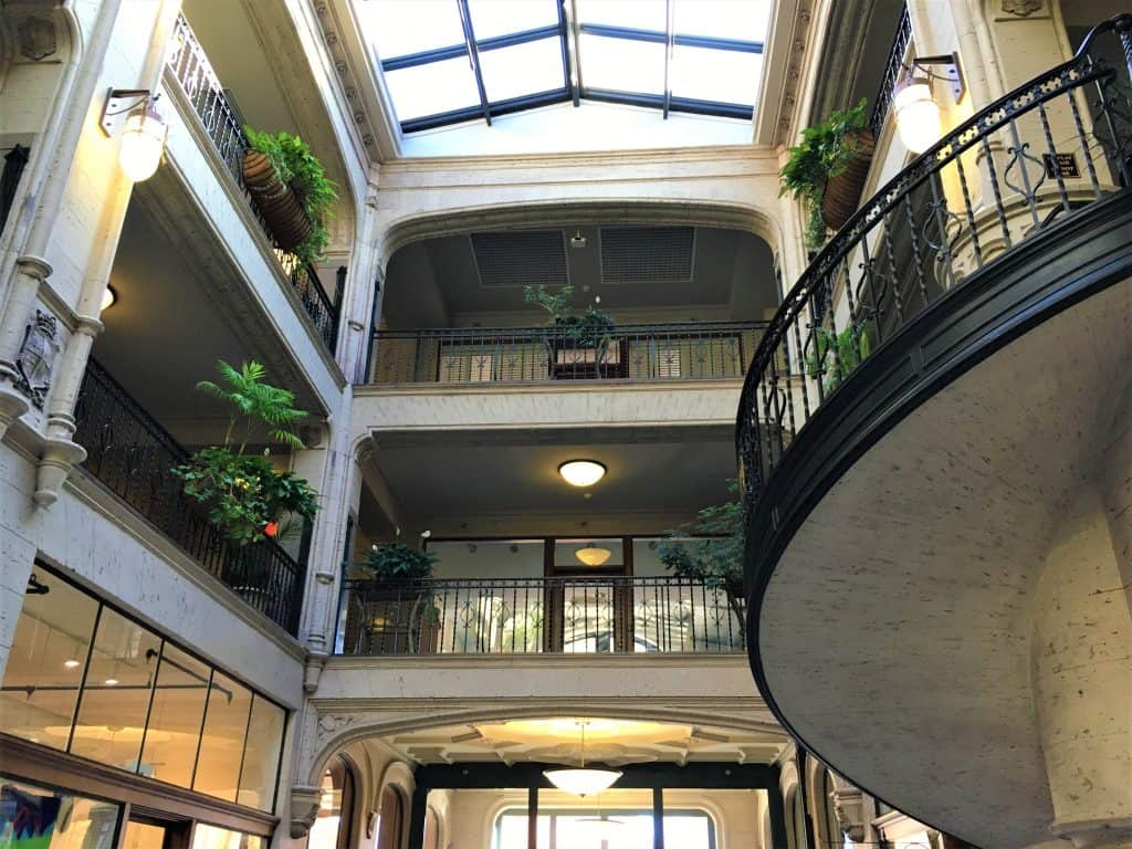 The Grove Arcade in downtown Asheville NC