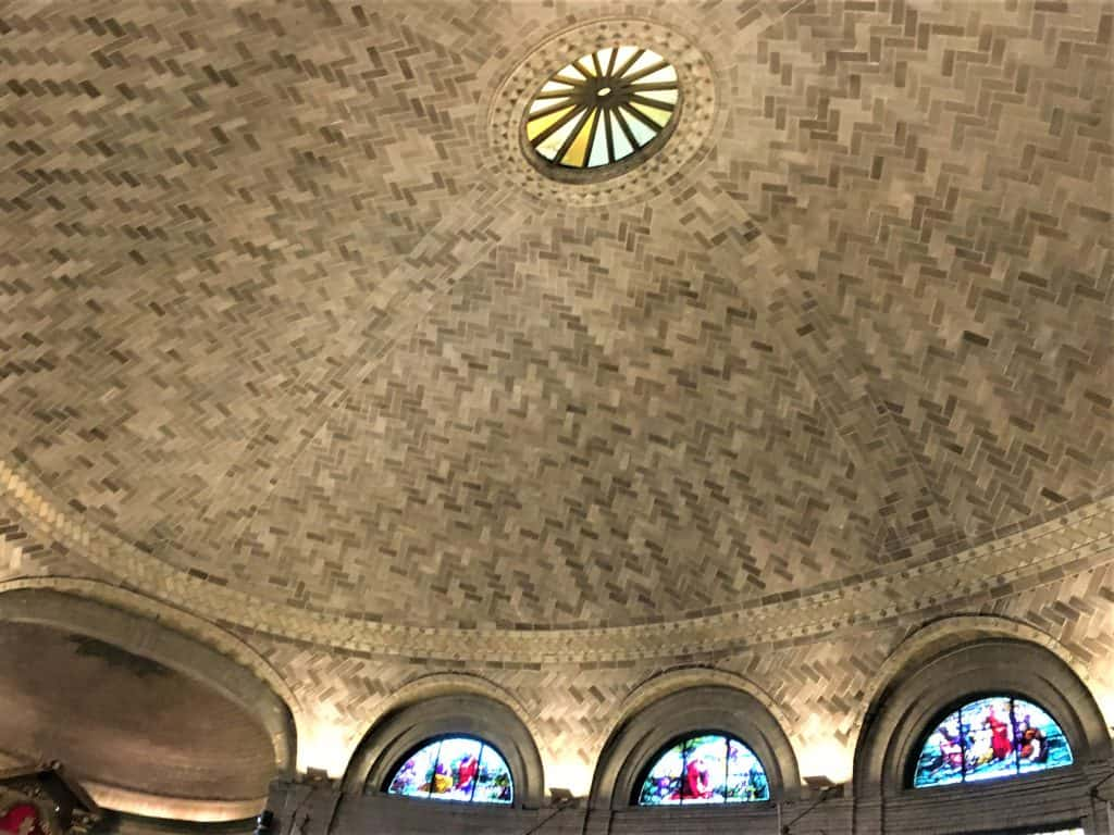 The dome of the Basilica St Lawerence in Asheville