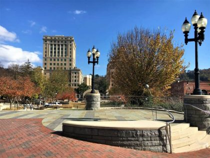 The Hop On and and Off Trolley will stop at Pack Square in Asheville