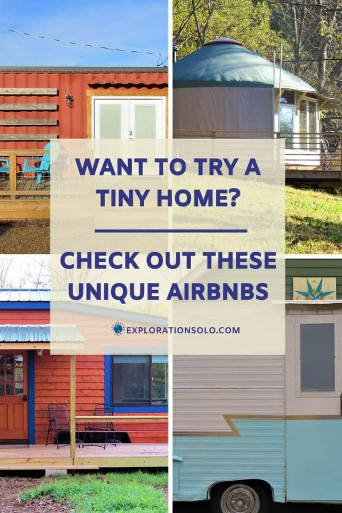 Rent a unique Airbnb and try a Yurt, Trailer or Tiny Home