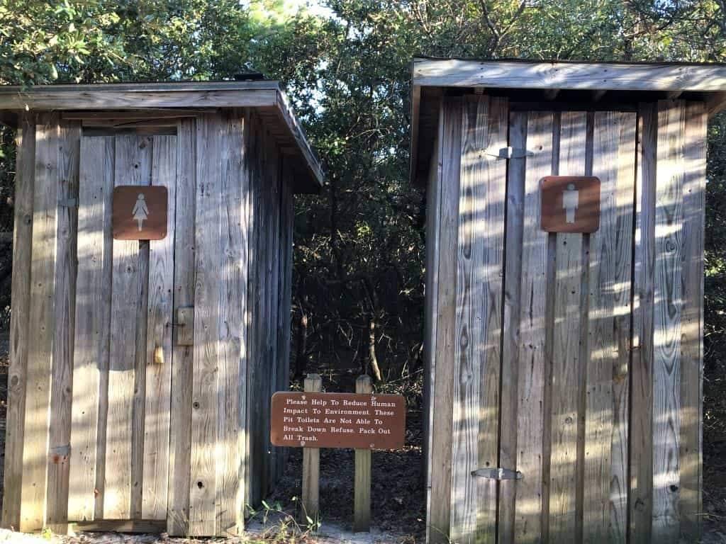 His and hers privies in Virginia