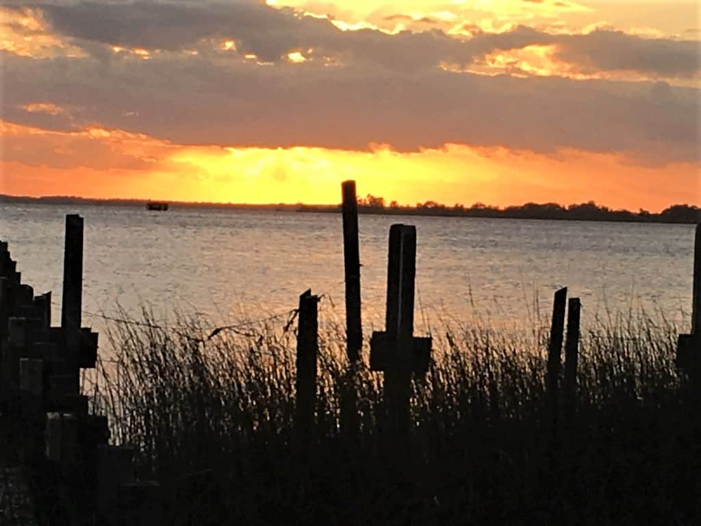 Sunset at False Cape