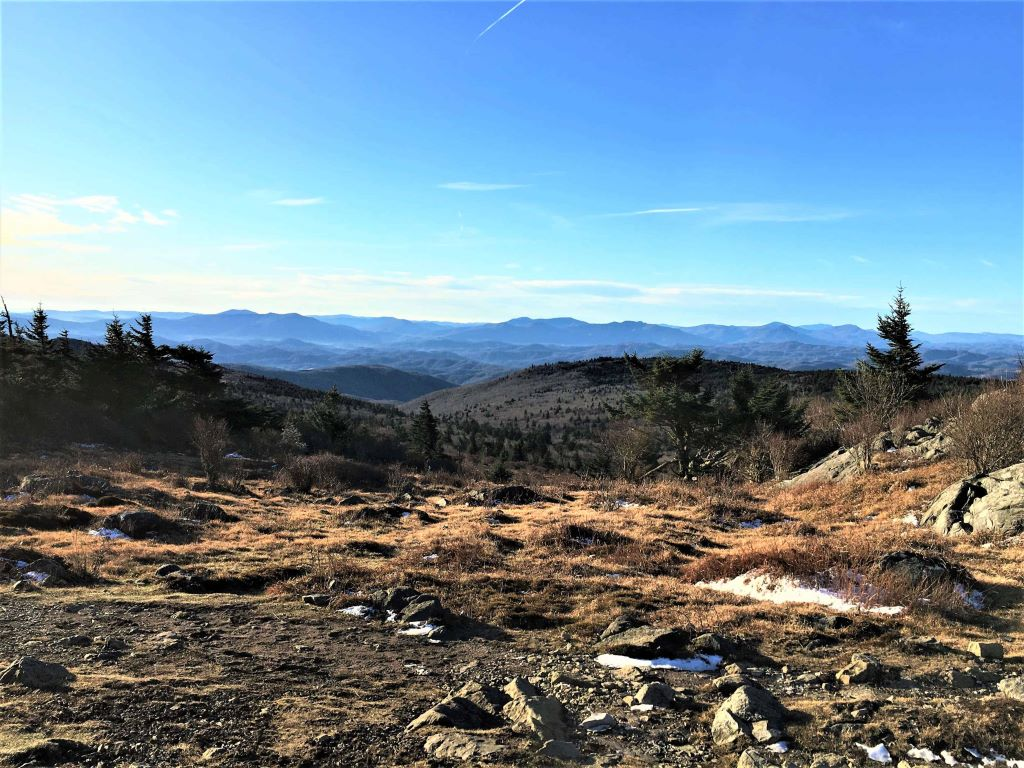 The beauty of Grayson Highlands is in how barren and rugged it looks