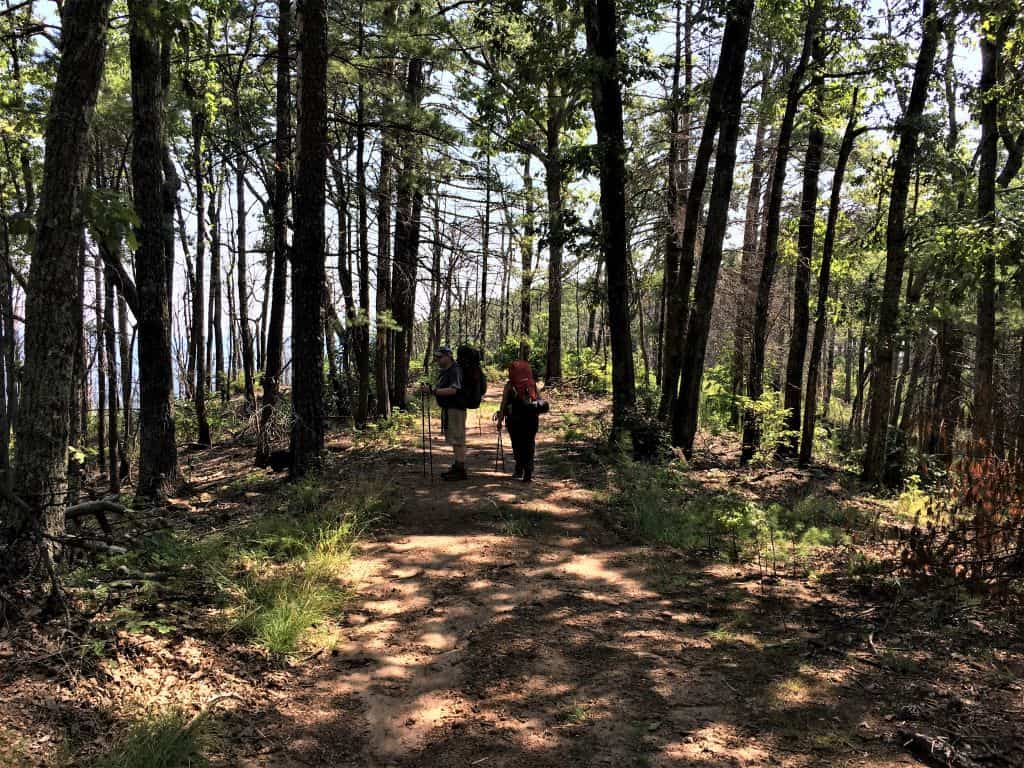 Hiking at south Mountain State Park