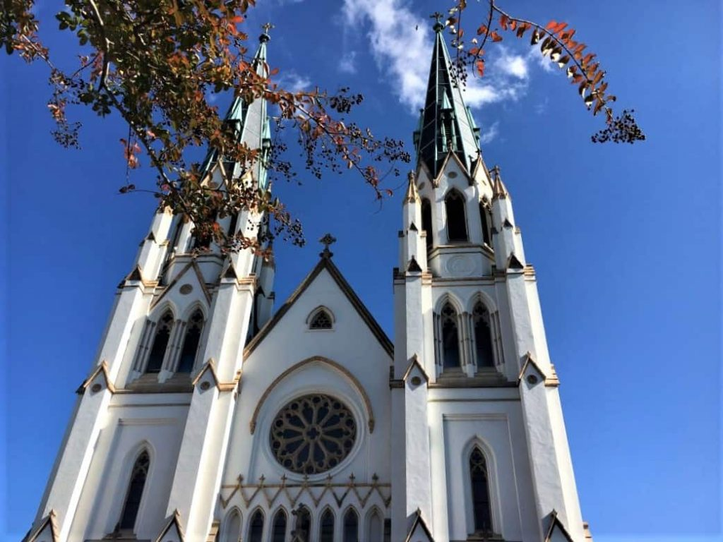 The Cathedral of St. John the Baptist in Savannah