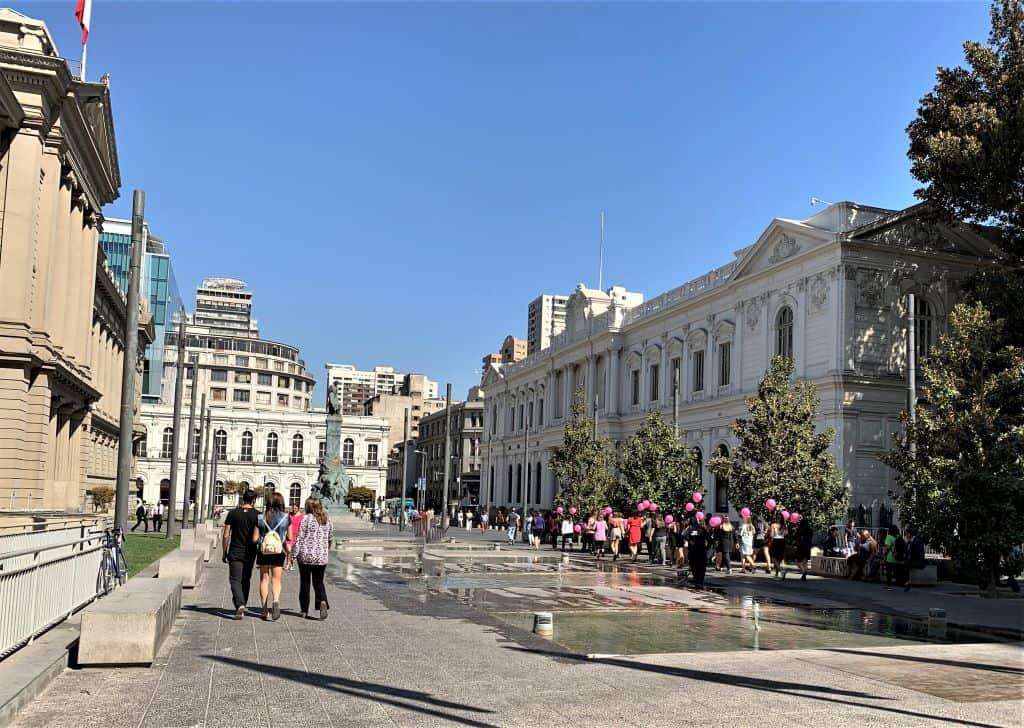 Plaza d'Arma Historic Santiago